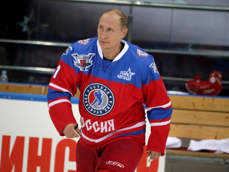 Vladmir Putin gjorde 8 mål(!) i All-star match