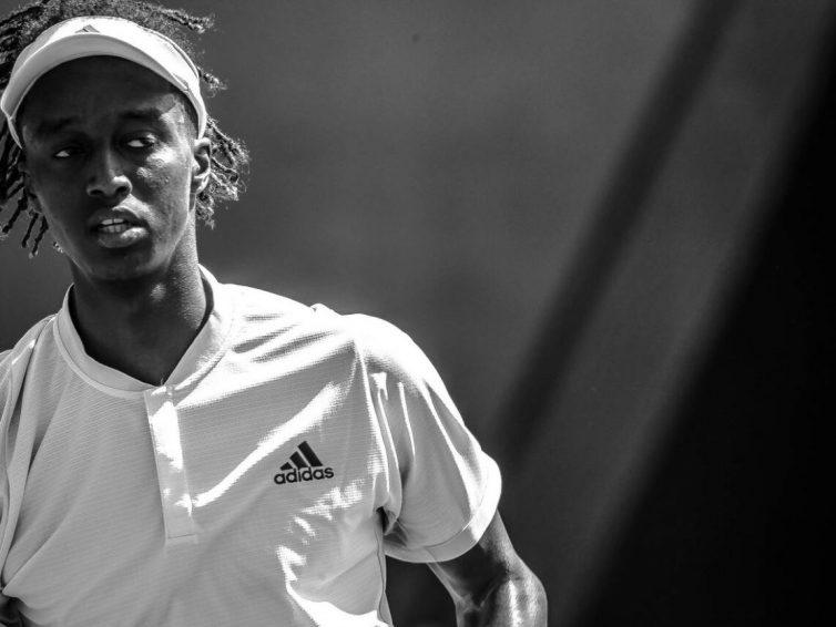 Mikael Ymer har tagit sin första seger i Wimbledon
